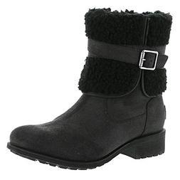 UGG Women's W Blayre Boot III Fashion, Black, 11 M US