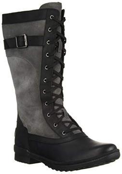 UGG Women's W BRYSTL Tall Boot Fashion, Black, 8 M US