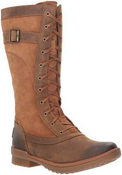 UGG Women's W BRYSTL Tall Boot Fashion, Chestnut, 5 M US