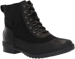 UGG Women's W CAYLI Fashion Boot, Black, 9.5 M US