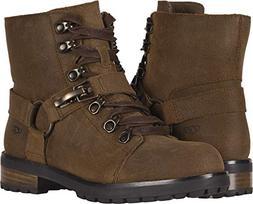 UGG Women's W Fritzi LACE-UP Boot Fashion, Chipmunk, 8 M US