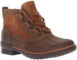 UGG Women's W Heather Boot Fashion, Chestnut, 8.5 M US