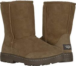 UGG Women's W Ultra Short Revival Fashion Boot, Chestnut, 5