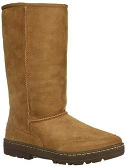 UGG Women's W Ultra Tall Revival Fashion Boot, Chestnut, 10