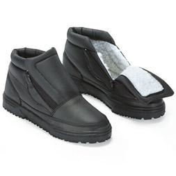 Water Resistant Snow Boots with Ice Grippers
