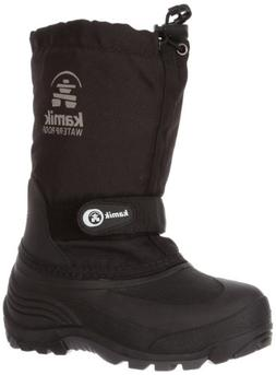 Kamik Waterbug 5 Cold Weather Boot ,Black,11 M US Little Kid