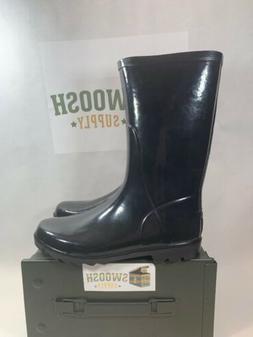 Columbia Waterproof Downpour Rain / Snow Tall Black Boots Sh