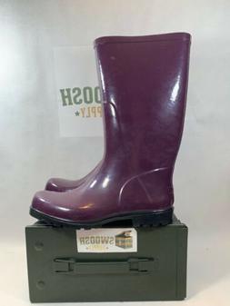 Columbia Waterproof Downpour Rain / Snow Tall Purple Boots S