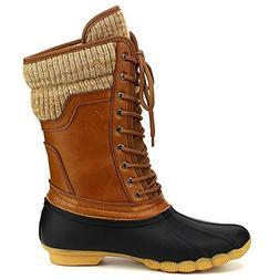 waterproof duck boots rubber two