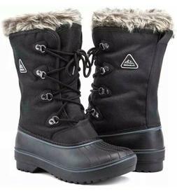 ALEADER Waterproof Snow Boots for Women Warm Winter Shoes -