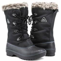 ALEADER Waterproof Snow Boots for Women Warm Winter Boots Sh