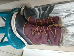 ALEADER  Waterproof Women's Winter Snow Boots Sz 10 Brand Ne