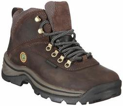 Timberland Women's White Ledge Mid Ankle Boot,Brown,9.5 M US