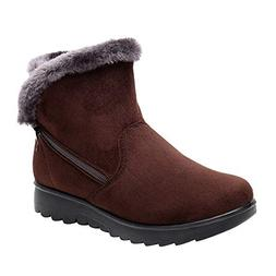 Womens Winter Ankle Boots, Ladies Snow Boots, Martin Booties