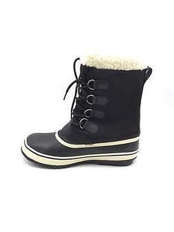 Sorel Women's Winter Carnival Boot,Black/Stone,9 M US