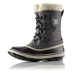 Sorel Women's Winter Carnival Boot,Pewter/Black,8.5 M US