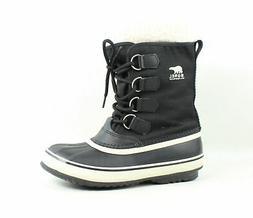 Sorel Women's Winter Carnival Boot,Black/Stone,8 M US