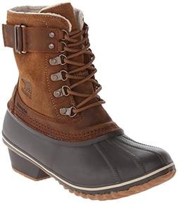 Sorel Women's Winter Fancy Lace II Boot,Elk/Grizzly Bear,8 M