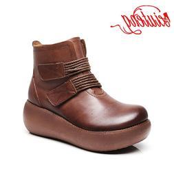 XIUTENG Winter Female Genuine Leather Shoes <font><b>Snow</b
