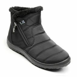 Winter Shoes Woman Snow Waterproof Plus Size 43 Winter Boots