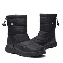 gracosy Winter Snow Boots for Women Men, Short Warm Booties