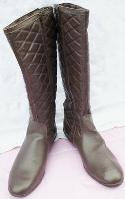 women brown boots size 38 or 7