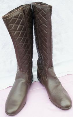 ANNA LUZZ Women Brown Boots Size 38 or 7.5