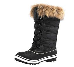 Globalwin Women's 1837 Winter Snow Boots 9.5 Black