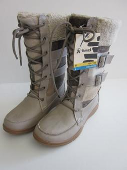 Kamik Women's Addams Snow Boots in Taupe