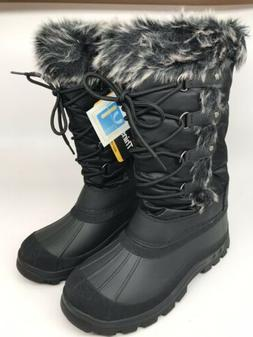 Anna Almeida Women's Arielle Snow Boot,Black Size 9 M NEW