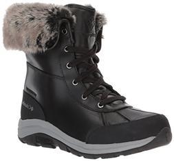 Columbia Women's Bangor Omni-Heat Ankle Boot, Black, Monumen
