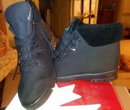 Women's Toe Warmers Black Chalet Snow Boots Size 12 N