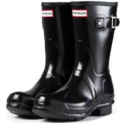 Hunter Women's Boots Original Short Gloss Snow Rain Boots Wa