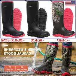 HISEA Women's Boots Waterproof Insulated Rain & Snow Outdoor