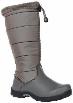 Baffin Women's Boston Snow Boot,Grey,6 M US