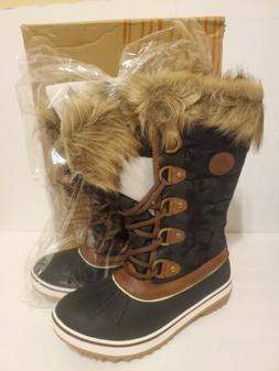 Globalwin Women's Brown Winter Snow Boots W1837-4 Size 7.5 L