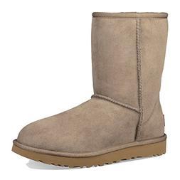 UGG Women's Classic Short ll Boot Twinface Sheepskin Suede,