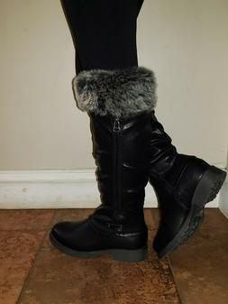 Women's Duck Knee High Snow Boots