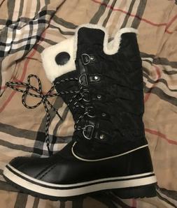 kingshow Women's Globalwin 1711 Winter Snow Boots Size 7