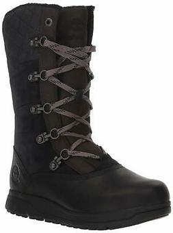 Timberland Women's Haven Point Waterproof Boot Snow, Black,