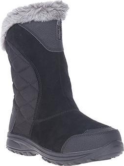 Columbia Women's Ice Maiden Ii Slip Snow Boot, Black, Shale,