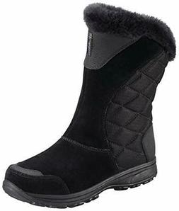 Columbia Women's Ice Maiden II Slip Winter Boot 9 Black, Sha