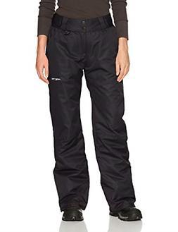 Arctix Women's Insulated Snow Pants, Black, Medium/Regular