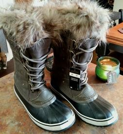 Women's Sorel Joan of Arctic Leather Insulated Snow Winter B