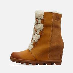 SOREL Women's Joan of Arctic Wedge II Lux Boots, Camel Brown