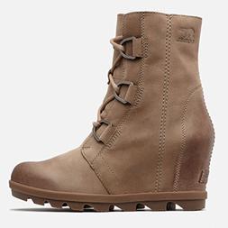 SOREL Women's Joan of Arctic Wedge II Boots, Ash Brown, 7 M