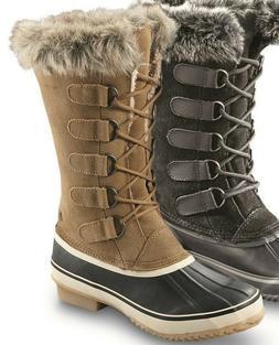 Northside Women's Kathmandu Waterproof Snow Boot Suede Warm