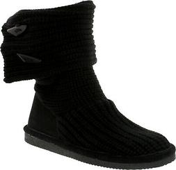 Bearpaw Women's Knit Tall Mid-Calf Wool Snow Boot