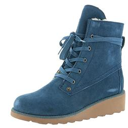 BEARPAW Women's Krista Slate Blue 9 M US M