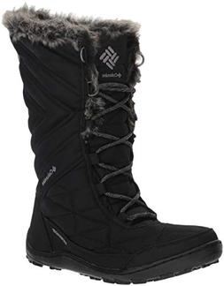 Columbia Women's Minx III Mid Calf Boot, Black, ti Grey Stee
